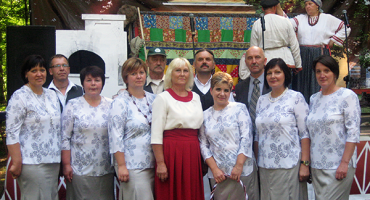 Goliševas sieviešu vokālais ansamblis uzstājās Pleskavas apgabalā