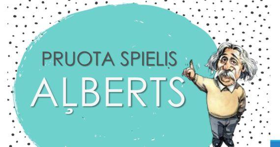 """""""Pruota spielis """"Aļberts"""""""" – aktīvajiem un erudītajiem!"""