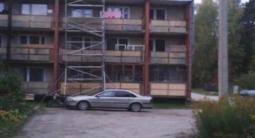 """Daudzdzīvokļu dzīvojamās mājas """"Priednieki"""" jumta atjaunošana Mērdzenes pagastā, Kārsavas novadā"""