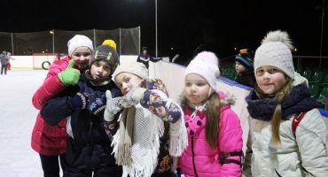 """Ziemas aktivitātes """"Graužam ledu"""" Kārsavas slidotavā"""