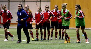 Četras kārsavietes piedalās Latvijas WU-17 meiteņu futbola izlases treniņos