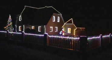 Izgaismotie Ziemassvētki un gadu mija Kārsavas novadā