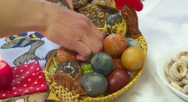 Lieldienu olu krāsošanas māksla Salnavā