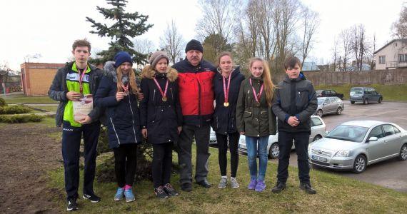Kārsavas novada vieglatlētu sasniegumi sacensībās Cīruļputenis - 2017