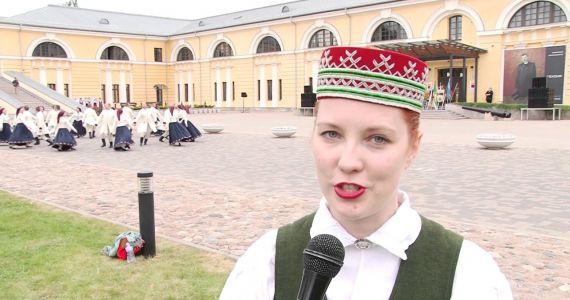 Daugavpils cietoksnī notika Latgales deju svētki