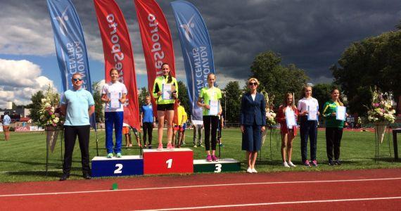 Mūsu sportistiem izcili sasniegumi Latvijas Jaunatnes olimpiādē