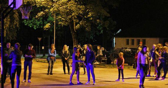 Jau tradiceja - Kuorsovys atkluotais nakts strītbola turnirs