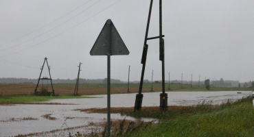 Dzeramā ūdens kvalitāte pēc spēcīgām lietavām Latgalē