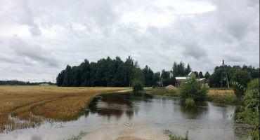 Iesniegumu pieņemšanas laiki no zemniekiem par plūdos cietušajām platībām