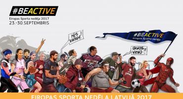 "Eiropas sporta nedēļa ""Sports vieno"""