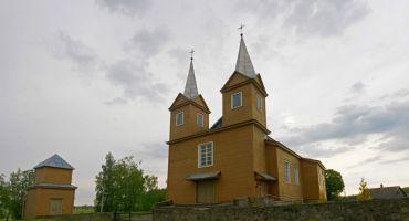 Stiglovas Romas katoļu baznīcā notiek remonts