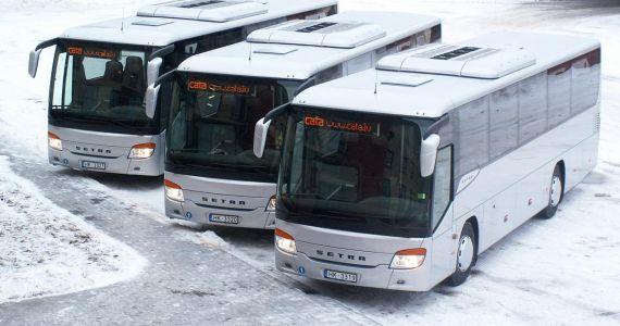 Svētku laikā būs izmaiņas vairāk nekā 500 reģionālo autobusu maršrutos