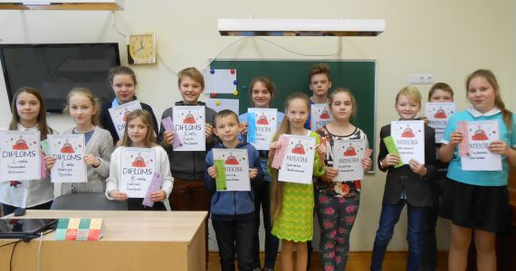 Kārsavas novada skolēni piedalās Nacionālajā skaļās lasīšanas sacensībā