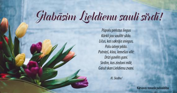Priecīgas un krāsainas Lieldienas!