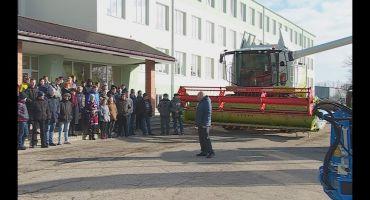 Malnavas koledžā modernākā agrotehnika Latvijā