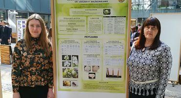 Kārsavas vidusskolas skolniecei A. Nalivaiko augsti sasniegumi pētniecisko darbu konferencē