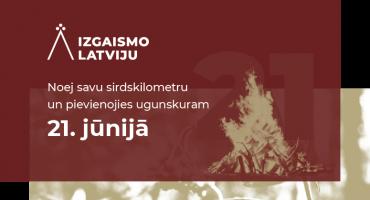 "Akcija ""Izgaismo Latviju"" Kārsavas novadā"