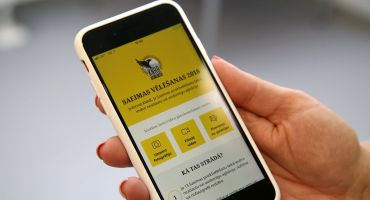 «Ziņo KNAB!» - priekšvēlēšanu aģitācijas mobilā lietotne