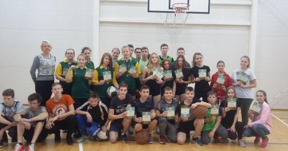 Mērdzenes pamatskolā notika starpnovadu sacensības basketbolā