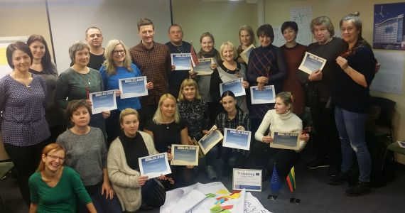 Daugavpilī norisinājās apmācības personām, kas strādā ar riska grupas bērniem un jauniešiem