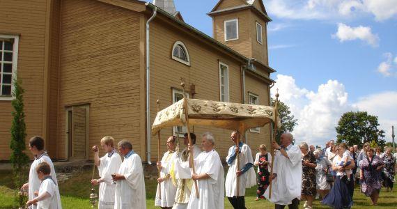 Stiglovas Romas katoļu baznīca aicina