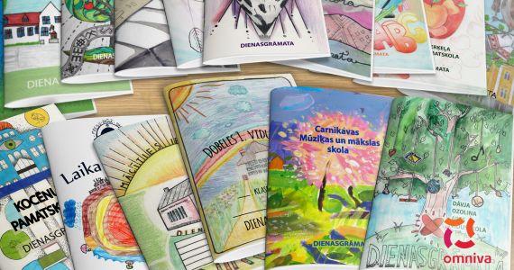 Vairāk nekā 20 000 skolēnu saņem personalizētas dienasgrāmatas 2019./2020. mācību gadam