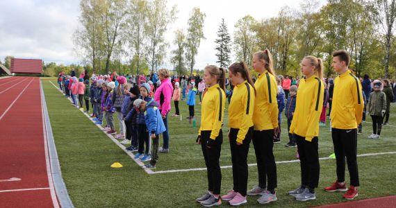 """Kārsavas novads piedalās """"Olimpiskā dienas 2019"""" pasākumā"""