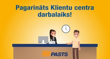 Latvijas Pasta Klientu centrs pagarina darbalaiku un uz klientu zvaniem atbild arī sestdienās
