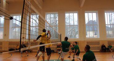 Sābru volejbola līga Malnovā. Veiru spielis