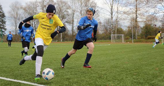 Aicinām uz bezmaksas futbola nodarbībām bērniem un jauniešiem