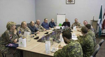 Tikšanās ar NATO un Zemessardzes pārstāvjiem
