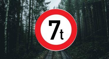 Mērdzenes pagastā uzstādītas masas ierobežojuma zīmes uz pašvaldības autoceļiem