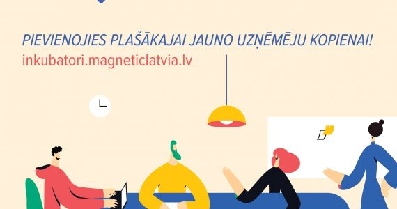 Jaunu dalībnieku uzņemšana LIAA Rēzeknes biznesa inkubatorā