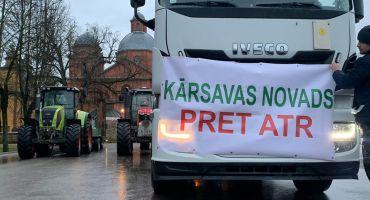 """Vislatvijas protesta akcija """"PRET ATR"""""""