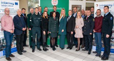 """INTERREG V-A Latvijas – Lietuvas programmas LLI-082 """"SYNERGY FOR SECURITY"""" projekts """" Sinerģiskas drošības platformas izveide Austrumlatvijas un Lietuvas pierobežā""""."""