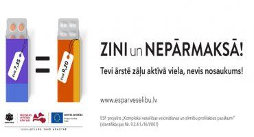Aprīlī 88% izrakstīto un atprečoto kompensējamo zāļu recepšu lietots aktīvās vielas nosaukums