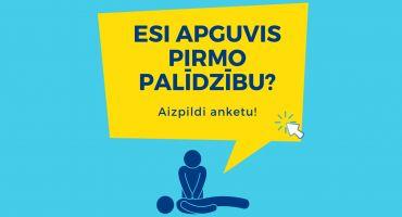 NMPD aicina iedzīvotājus aizpildīt aptauju par pirmās palīdzības apmācībām Latvijā