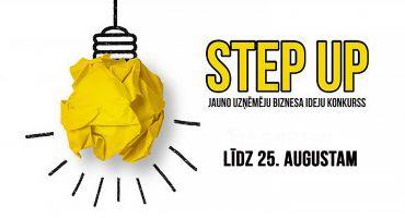 """Piesakies konkursā """"STEP UP"""" līdz 25.augustam!"""