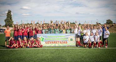 """Meiteņu čempionāta U-14 Attīstības grupā SK """"Kuorsovai"""" 2.vieta"""