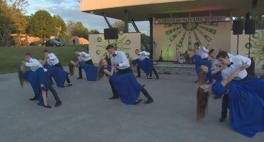 Izskan Kārsavas novada pagastu koncerts un jaunības svētki