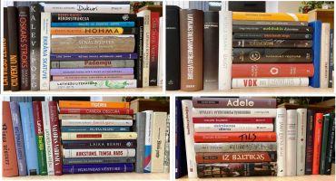 Kārsavas novada bibliotēkās nonāk vērtīgas grāmatas
