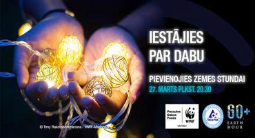 Sestdien visā Latvijā un pasaulē atzīmēs Zemes stundu