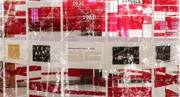 """Izstāde """"Latvijas diplomātijai un ārlietu dienestam 100"""" uz laiku apskatāma arī Kārsavā"""