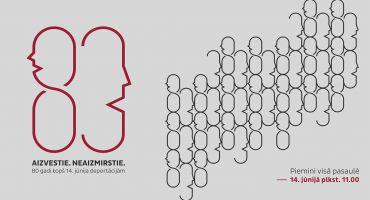 Pieminot Latvijas iedzīvotāju pirmās masu deportācijas 80. gadadienu, vienlaikus visā valstī notiks 1941. gadā izsūtīto iedzīvotāju vārdu lasījumi