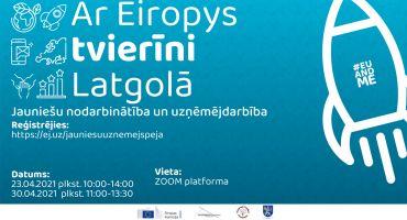 Aicina jauniešus pieteikties diskusijai par nodarbinātību un uzņēmējdarbību un savu ideju attīstībai iegūt 1000 EUR