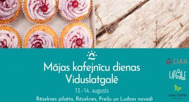Mājas kafejnīcu dienu gardumi Viduslatgalē 13. un 14. augustā